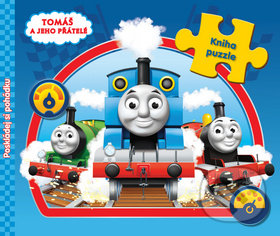 Tomáš a jeho přátelé: Kniha s puzzle -