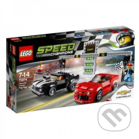 LEGO Speed Champions 75874 Chevrolet Camaro Dragster -