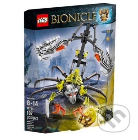 LEGO Bionicle 70794 Škorpión Lebka -