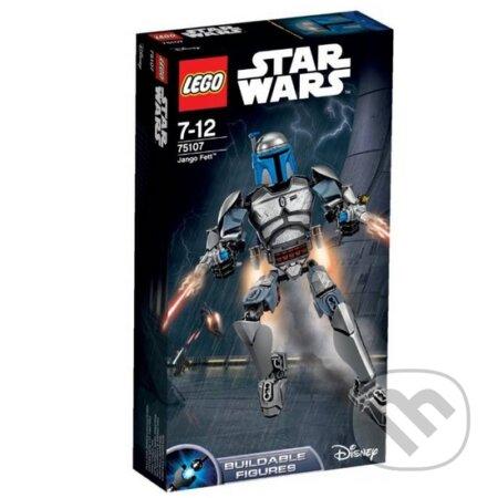 LEGO Star Wars - akční figurky 75107 Jango Fett -