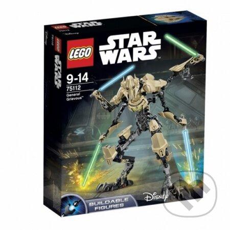 LEGO Star Wars - akční figurky 75112 Generál Grievous -