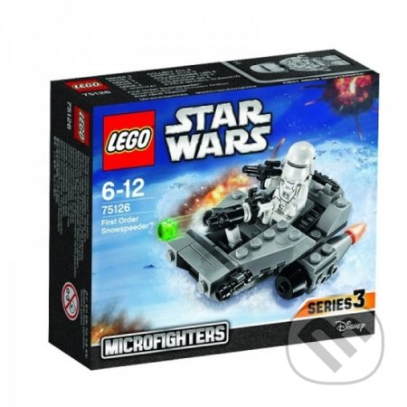 LEGO Star Wars 75126 Confidential Microfighter Villain craft blue -
