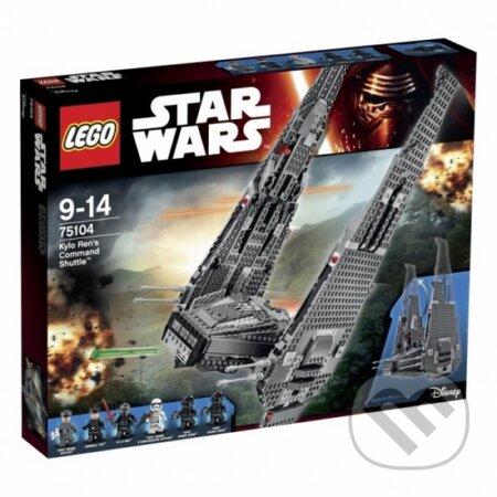 LEGO Star Wars 75104 Kylo Ren's Command Shuttle (Kylo Renova veliteľská loď) -