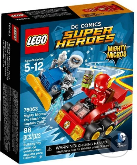 LEGO Super Heroes 76063 Mighty Micros: Flash vs. Kapitán Cold -