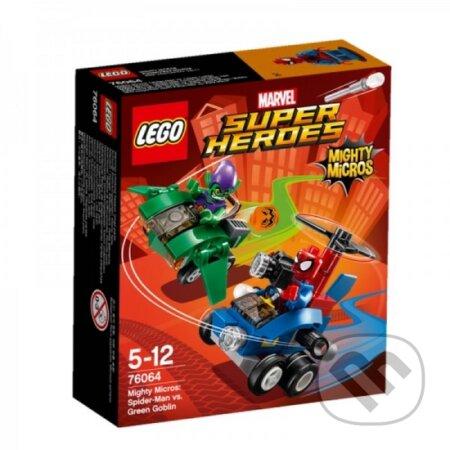 LEGO Super Heroes 76064 Mighty Micros: Spiderman vs. Green Goblin -