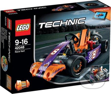 LEGO Technic 42048 Pretekárska autokára -