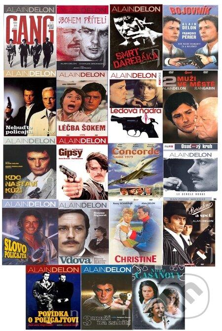 19 x Alain Delon DVD