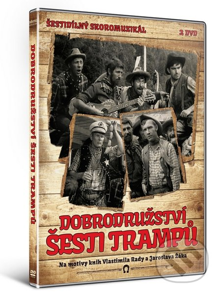 Dobrodružství šesti trampů DVD