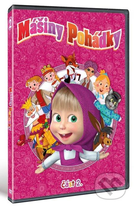 Mášiny pohádky 2. DVD