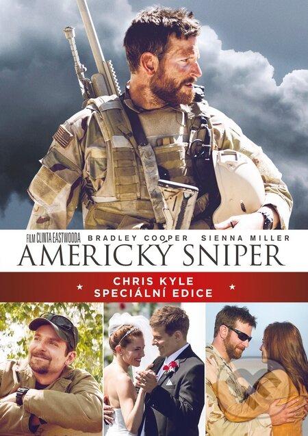Americký sniper Speciální edice DVD
