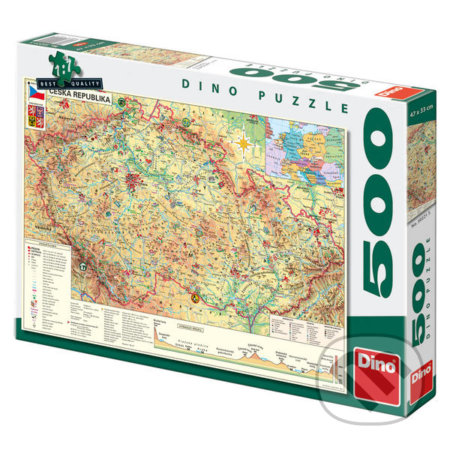 Mapa České republiky -