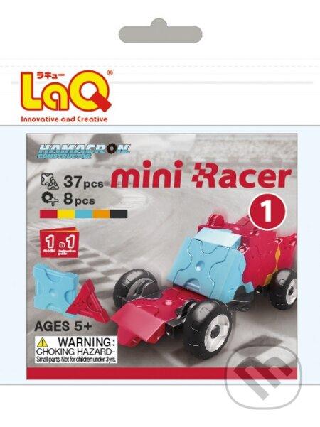 LaQ HC Mini Racer Červený -