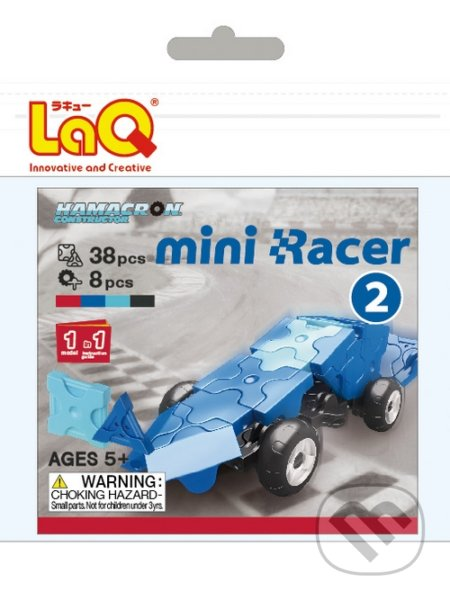 LaQ HC Mini Racer Modrý -