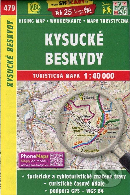 Kysucké Beskydy 1:40 000 -