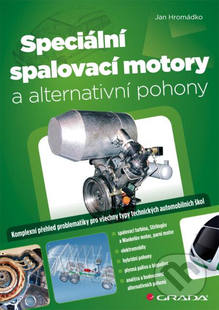 Speciální spalovací motory a alternativní pohony - Jan Hromádko
