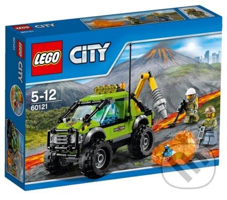 LEGO City 60121 Sopka Prieskumné vozidlo -