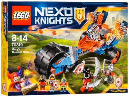LEGO Nexo Knights 70319 Macyin hromový palcát -