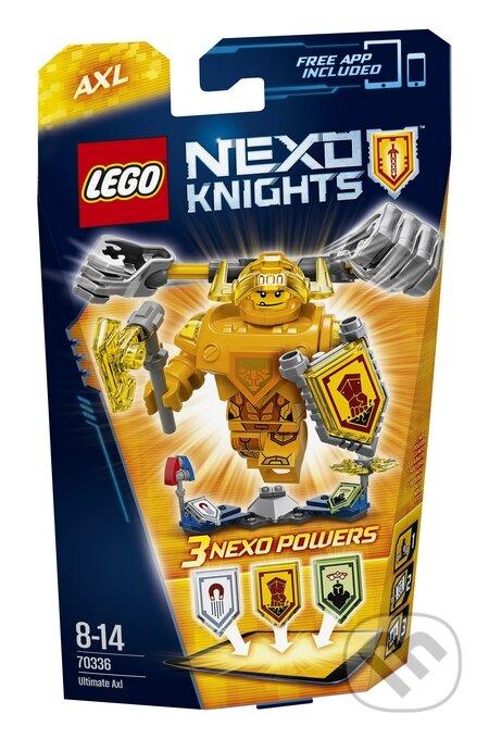 LEGO Nexo Knights 70336 Úžasný Axl -