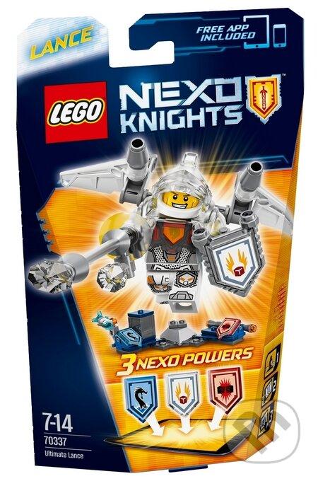 LEGO Nexo Knights 70337 Úžasný Lance -