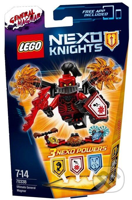 LEGO Nexo Knights 70338 Úžasný generál Magmar -