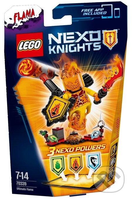 LEGO Nexo Knights 70339 Úžasný Flama -