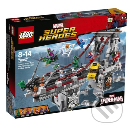 LEGO Super Heroes 76057 Spiderman: Úžasný súboj pavúčích bojovníkov na moste -