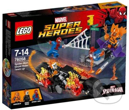 LEGO Super Heroes 76058 Spiderman: Ghost Rider vstupuje do tímu -