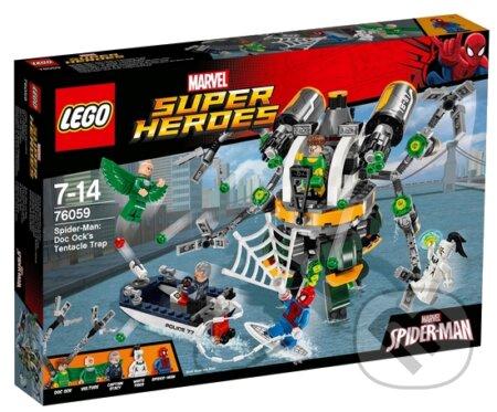 LEGO Super Heroes 76059 Spiderman: Pasca z chápadiel doktora Ocka -