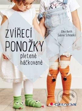 Zvířecí ponožky - Elke Reith, Sabine Schidelko