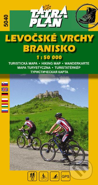 Levočské vrchy, Branisko 1:50 000 -