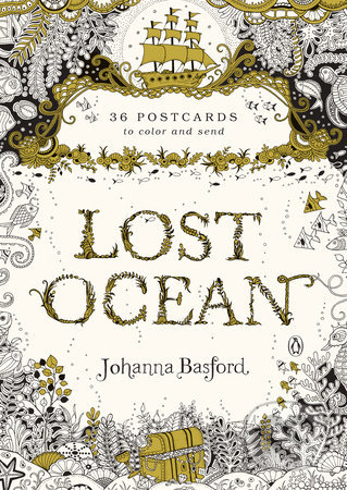Lost Ocean: 36 Postcards - Johanna Basford