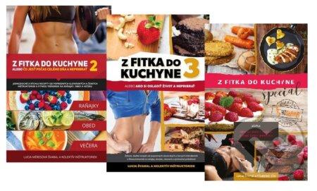 Z fitka do kuchyne 2 + 3 + špeciál - Lucia Švaral a kolektív