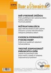 Dane a účtovníctvo 6/2016 -