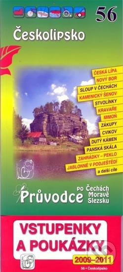 Českolipsko 56. - Průvodce po Č,M,S + volné vstupenky a poukázky -