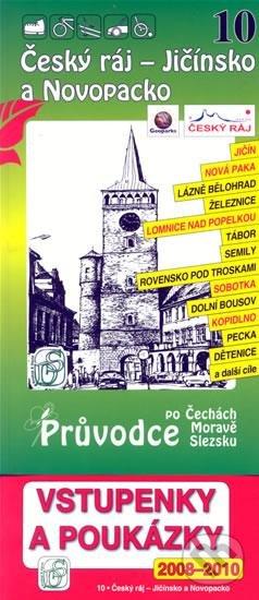 Český ráj - Jičínsko a Novopacko 10. - Průvodce po Č,M,S + volné vstupenky a poukázky -