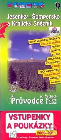 Jeseníky - Šumpersko a Králický Sněžník 9. - Průvodce po Č,M,S + volné vstupenky a poukázky -