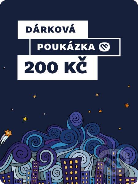 Dárkova poukázka - 200 Kč -