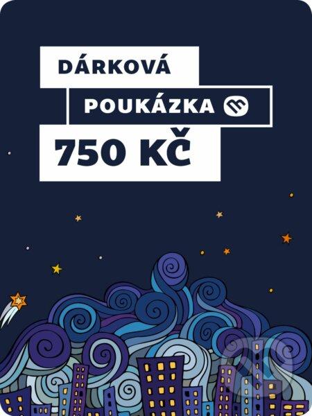 Dárkova poukázka - 750 Kč -