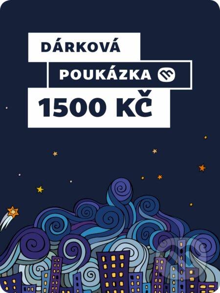 Dárkova poukázka - 1500 Kč -