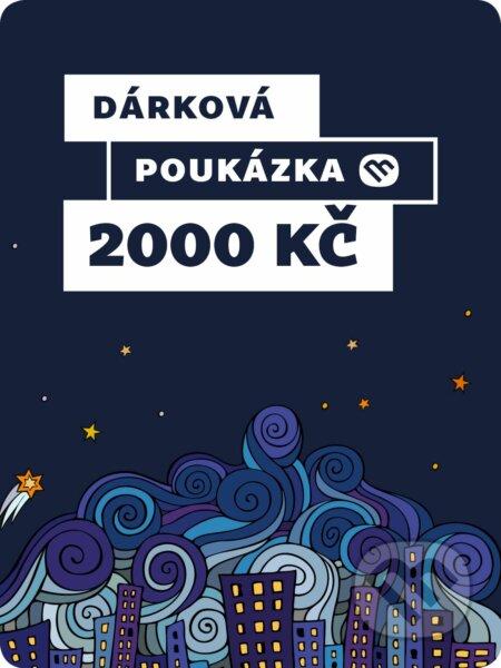 Dárkova poukázka - 2000 Kč -
