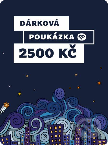Dárkova poukázka - 2500 Kč -