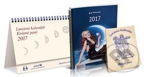 Lunární kalendář Krásné paní 2017 - Žofie Kanyzová