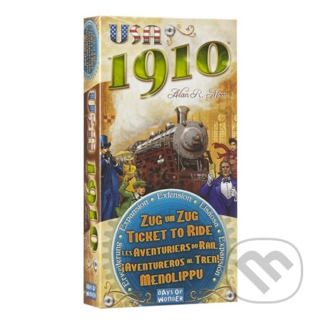 Ticket to Ride: USA 1910 - Alan R. Moon