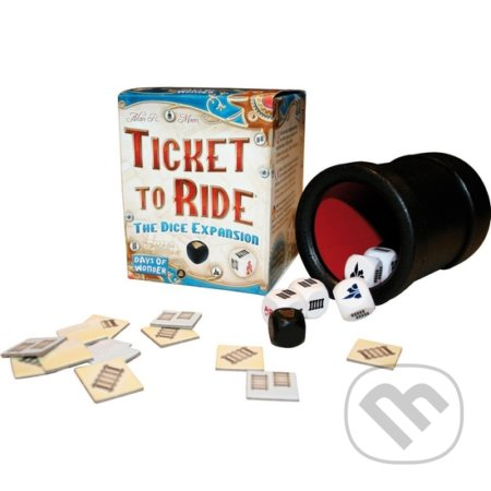 Ticket to Ride: The Dice Expansion - Alan R. Moon