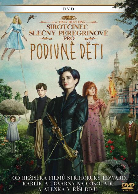 Sirotčinec slečny Peregrinové pro podivné děti DVD