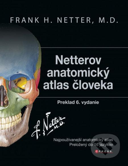 Netterov anatomický atlas človeka - Frank H. Netter