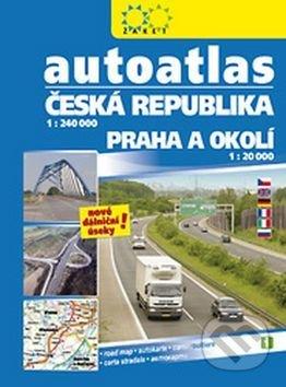 Autoatlas Česká Republika 1:20 000 -