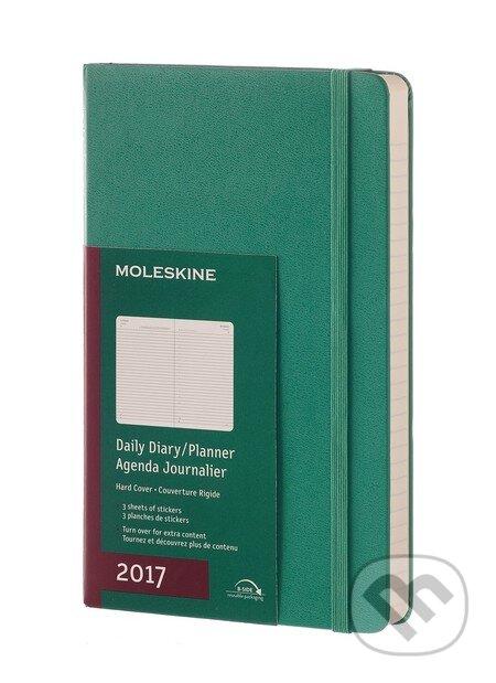 Moleskine – 12-mesačný zelený diár 2017 -