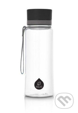 Fľaša EQUA Plain Black 400 ml -
