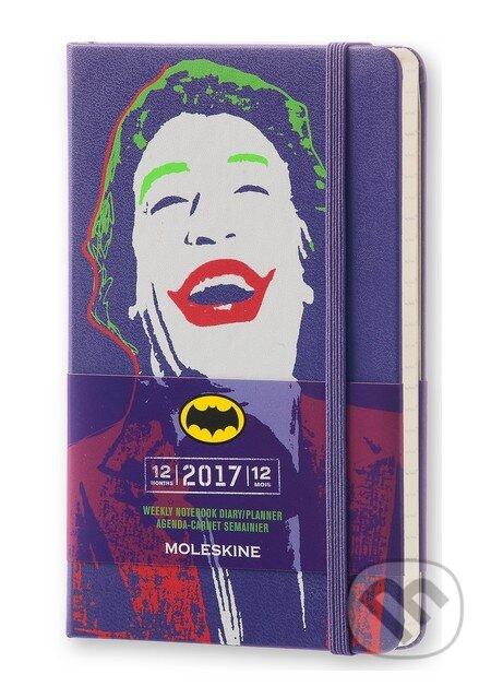 Moleskine – 12-mesačný plánovací zápisník Batman 2017 -